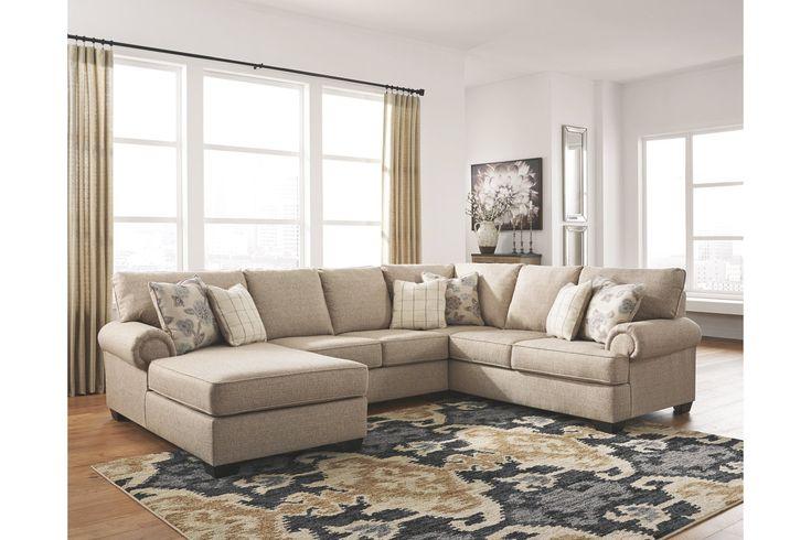 Baceno 3 Piece Sectional Ashley Furniture Homestore Ashley Furniture Furniture 3 Piece Sectional