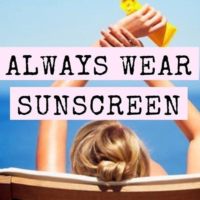 Make wearing sunscreen a habit! Around 19,000 more people die each year from cancer than 30 years ago.