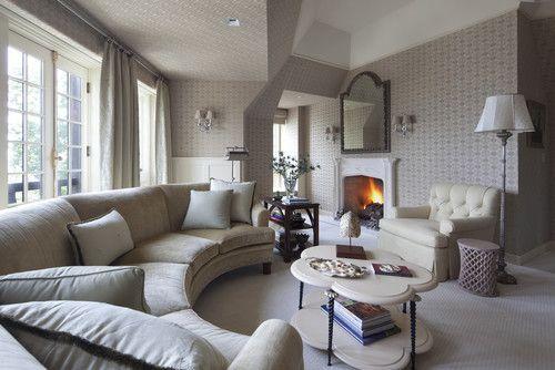 Sofá redondo é tendência na decoração de ambientes!