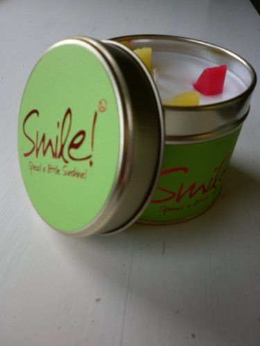 LILY FLAME CANDLE TIN SMILE - LATEST SCENT Lily Flame http://www.amazon.co.uk/dp/B0055SVA60/ref=cm_sw_r_pi_dp_pO7Sub0EGYEWF
