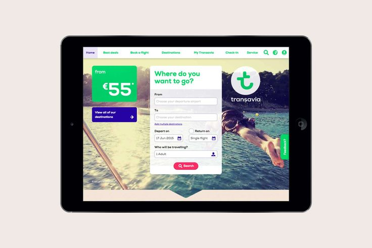 Studio Dumbar: Transavia Visual Identity For A Popular Low-cost Airline