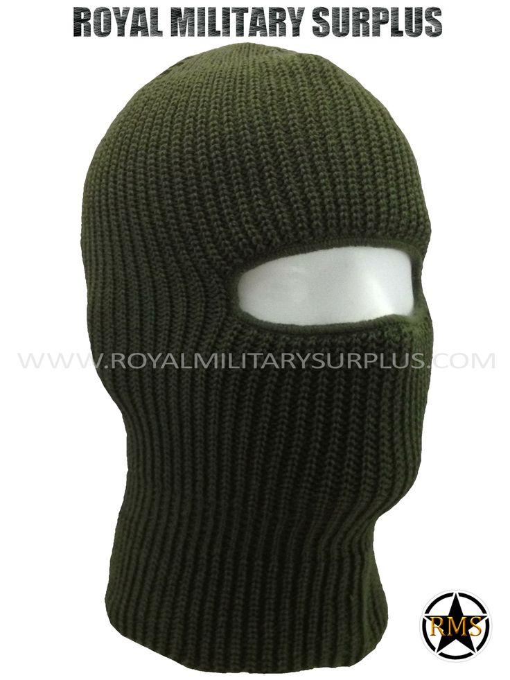 This OD GREEN Tactical Military Balaclava / Hood is in use by Canadian Forces. Made following Military Specifications (1 Hole Face Mask). All items are brand new and available. In use by Army, Military, Police and Special Forces of International Forces. Visit our Website at www.royalmilitarysurplus.com
