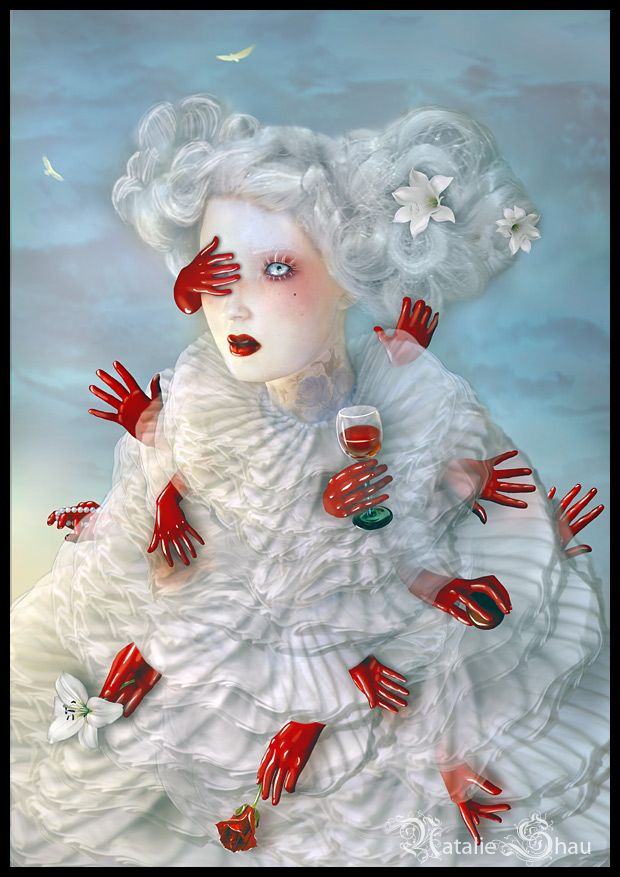 Natalie Shau is illustrator and photographer from Lithuania (Vilnius). She works mainly in digital media and Natalie's works are mixture of her photography, digital painting and 3D elements. She enjoys creating surreal and strange creatures, fragile and powerful at the same time.