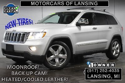 eBay: 2012 Jeep Grand Cherokee Overland 4x4 2012 Jeep Grand Cherokee Overland 4x4 85,956 Miles Bright Silver Metallic Clearc #jeep #jeeplife
