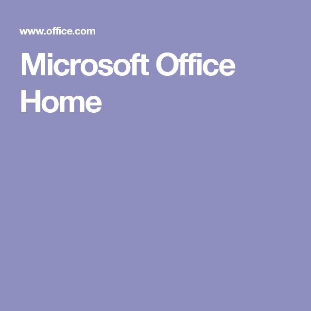 Microsoft Office Home