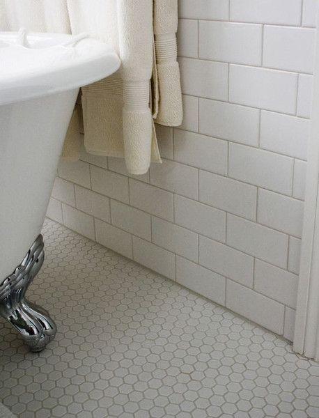 sheet tile for showers. White Porcelain 1 inch Hexagon Mosaic Tile  on 12 x Mesh Sheet 35 best images Pinterest Bathroom ideas and Bath