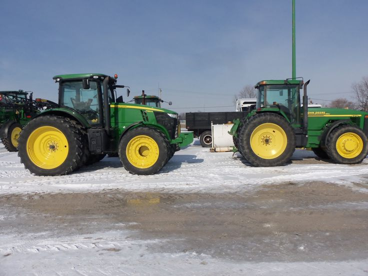 Front Duals For Tractors : John deere r with front duals tri green
