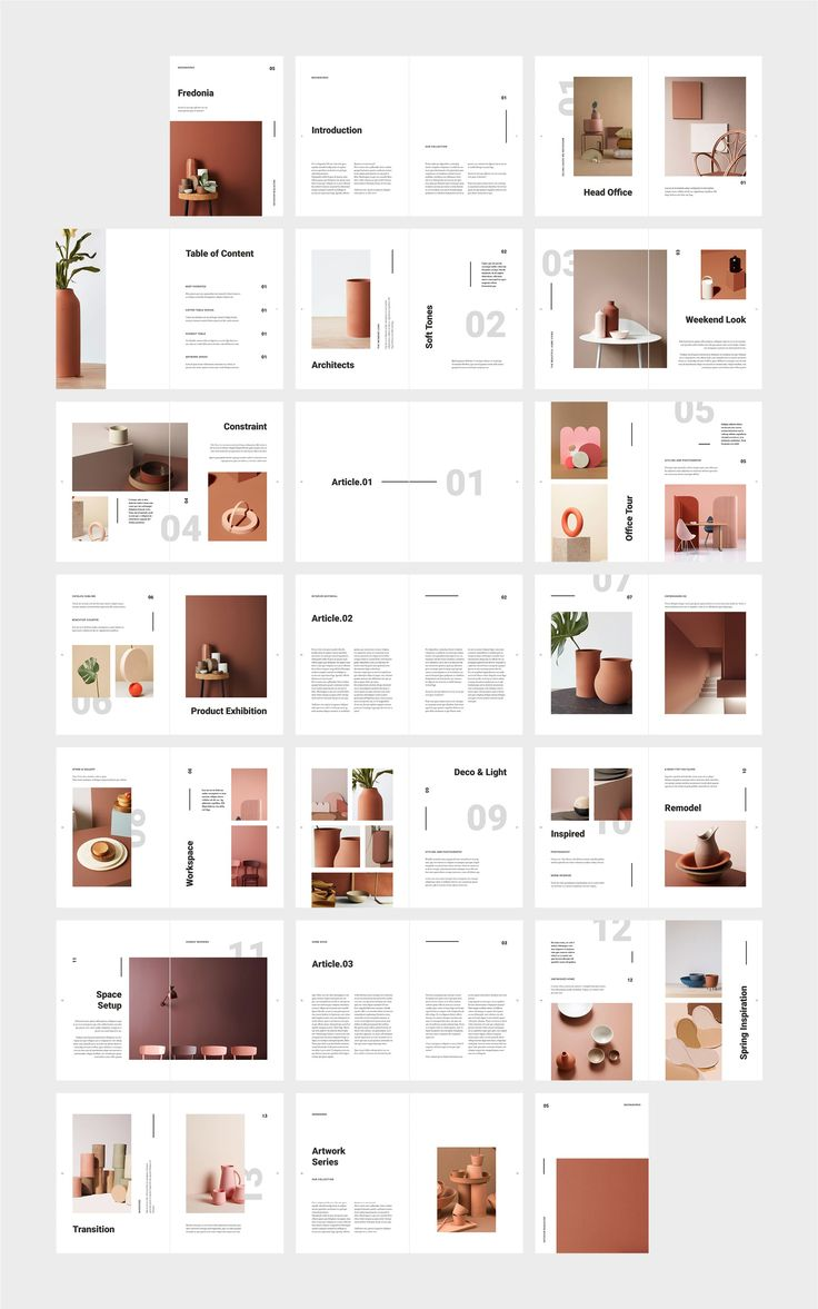 FREDONIA Home Decor Catalog by flowless template #…