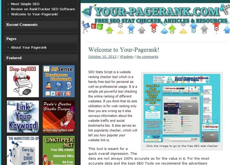 amazon web services seo pagerank
