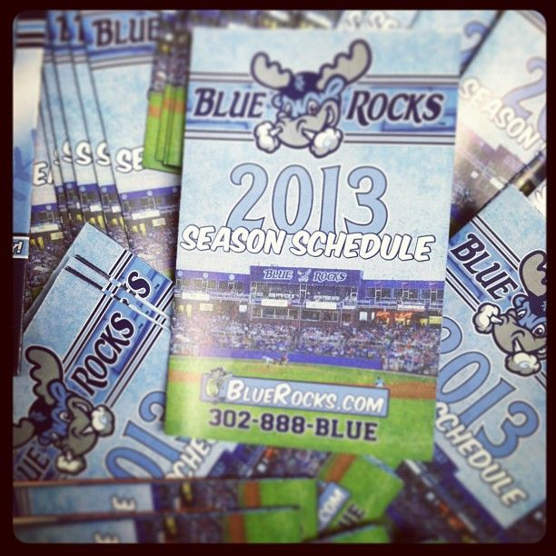 POCKET SCHEDULES ARE IN!!!  And they are BEAUTIFUL!