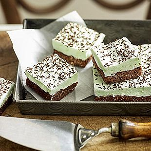 Chocolate-peppermint marshmallow slice - The fabulous Women's Weekly Recipe I've been looking for for ages!