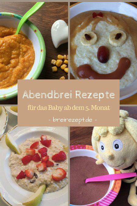 Abendbrei-Rezepte für das Baby ab dem 5.Monat