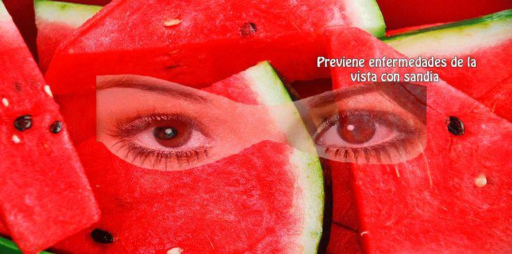 La sandía es una maravillosa fuente de betacaroteno el cual se convierte en el organismo en vitamina A.