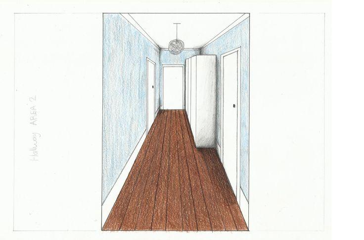 Hallway- Rendered
