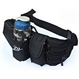 Cheap FOME Adjustable Strap Waist Bag Pack with Water Bottle Holder Pocket for Running / Hiking / Cycling / Camping...