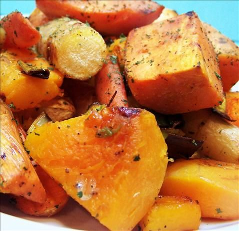 Roasted Winter Vegetables from Food.com:   								Courtesy of Barefoot Contessa