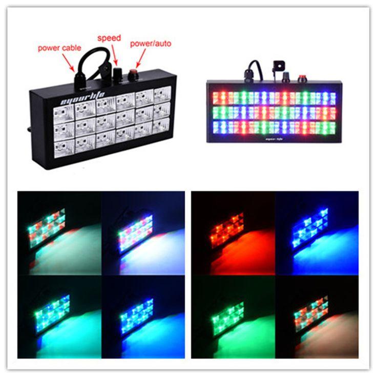 $23.32 (Buy here: https://alitems.com/g/1e8d114494ebda23ff8b16525dc3e8/?i=5&ulp=https%3A%2F%2Fwww.aliexpress.com%2Fitem%2Fnew-Sound-Active-home-disco-equipment-18-LED-strobe-light-stroboscope-60w-rgb-beam-lighting-projector%2F32521428528.html ) new Sound Active home disco equipment 18 LED strobe light stroboscope 60w rgb beam lighting projector in Club dj Show free shipp for just $23.32