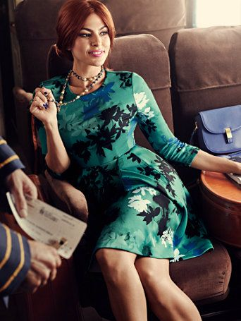 Shop Eva Mendes Collection - Parker Flare Dress. Find your perfect size online at the best price at New York & Company.