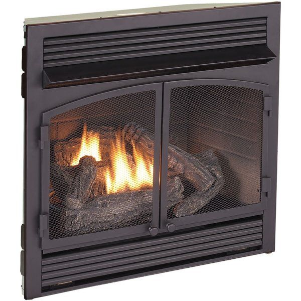 Vent Free Recessed Natural Gas Propane Fireplace Insert W Remote Propane Fireplace Gas Fireplace Fireplace Inserts