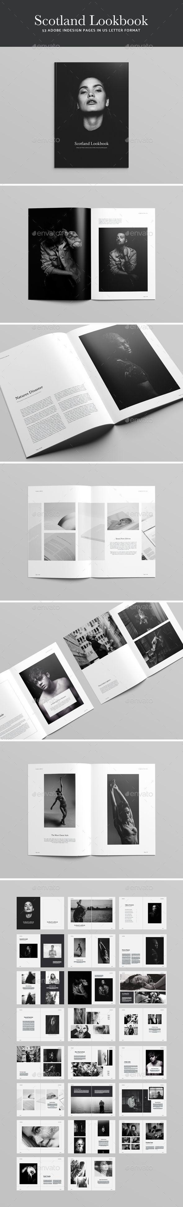 Scotland Lookbook   Magazine template, Indesign magazine templates ...