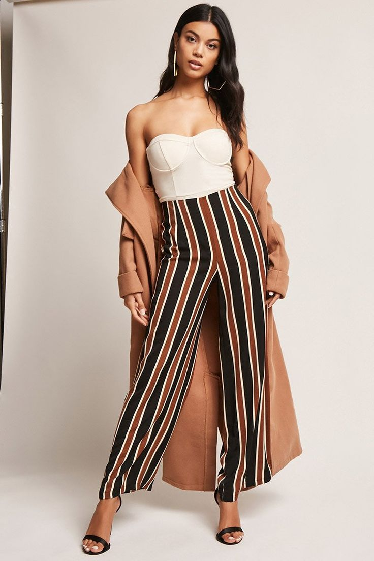 Product Name:Striped Palazzo Pants, Category:bottoms, Price:27.9