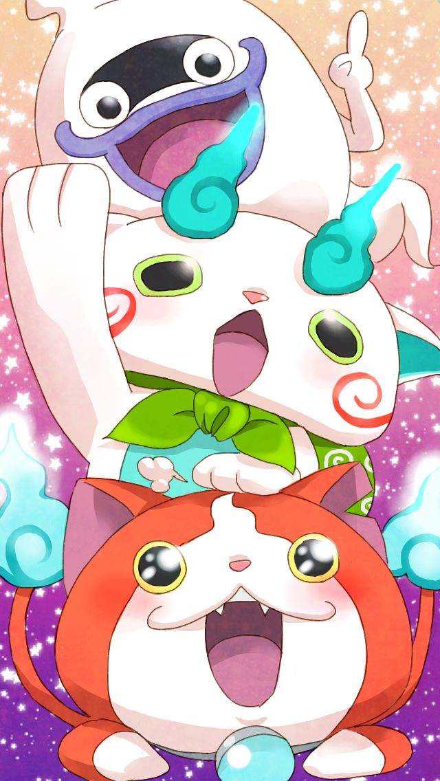 Yo-Kai Watch | Whisper, Komasan and Jibanyan