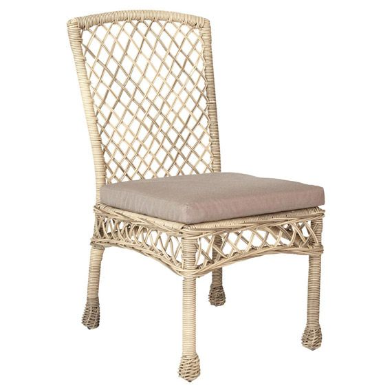 Helford Outdoor Dining Chair, Rattan