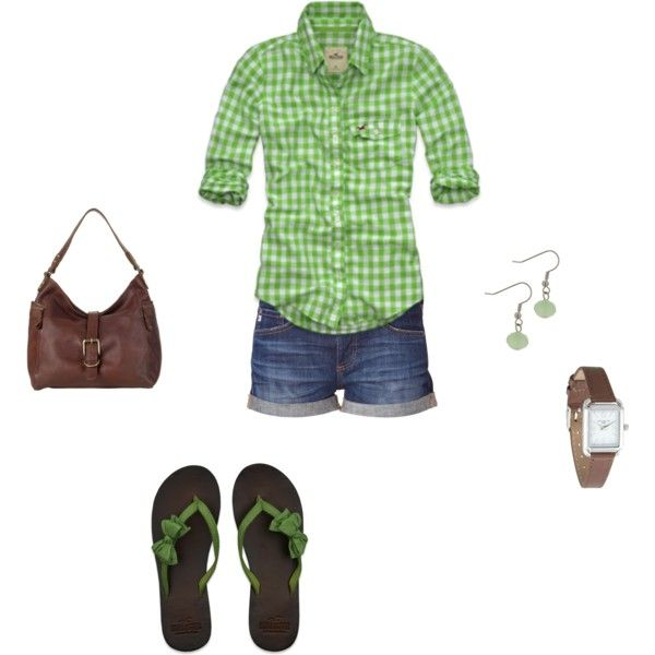 Summer Green, created by mrscosentino on Polyvore