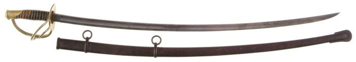 Union General George Armstrong Custer's U. S. Model 1860 Light Cavalry Saber