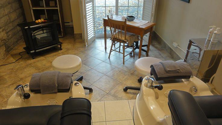 Private 2-person Pedicure room