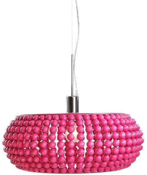 Medium sized pink Helmi Lights