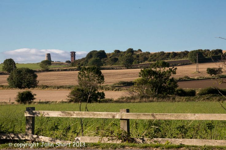 Cleadon Village Water Tower and Wind Mill, South Tyneside.