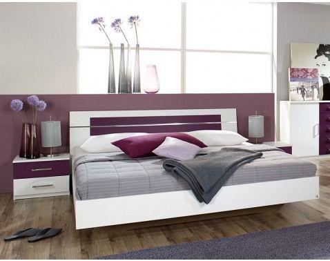 Posteľ  s nočnými stolíkmi BURANO 180x200