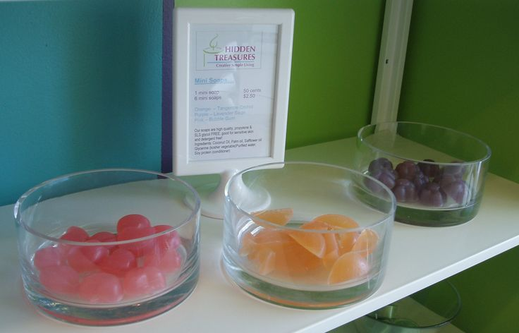 Kids will enjoy these whimsical mini soaps, turning bath time into play time!