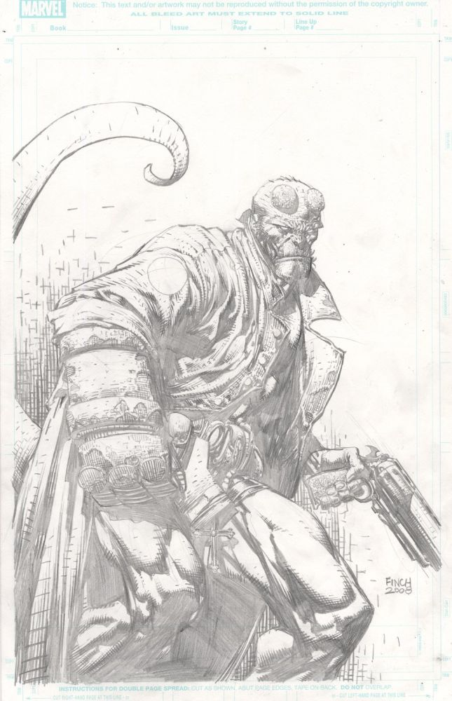 Hellboy by David Finch