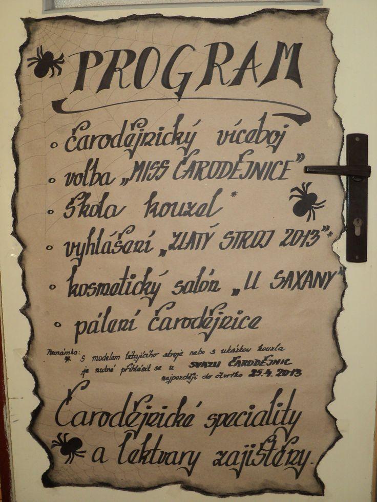 Čarodějnice 2013 (Witch - decoration)