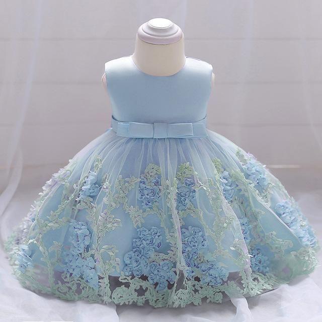 4f4079163 Summer Baby Girls Dress For Girls Princess Dress Infant Wedding ...