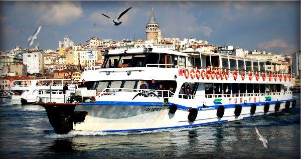 Ferry Boats of Galata Bridge