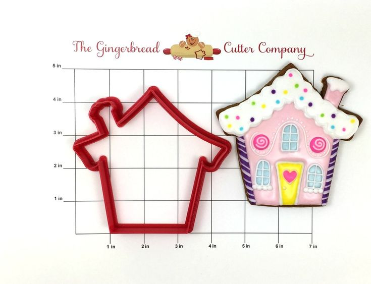 Gingerbread house cookie cutters christmas best images for Cookie cutter house plans