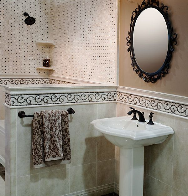 Tile Border Accent Wall – Entertainment and sport