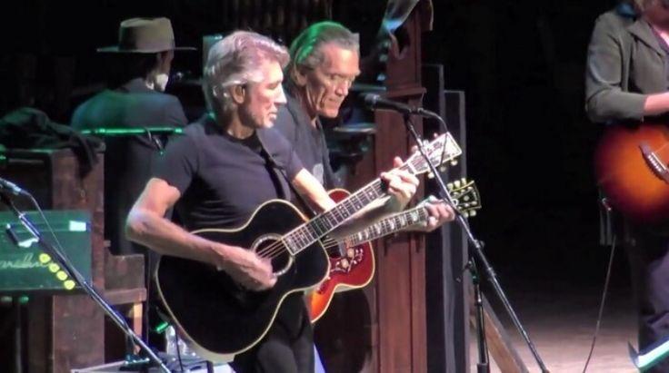 Roger Waters Tocou Pink Floyd E Bob Dylan Em Evento De Caridade   SuperFM
