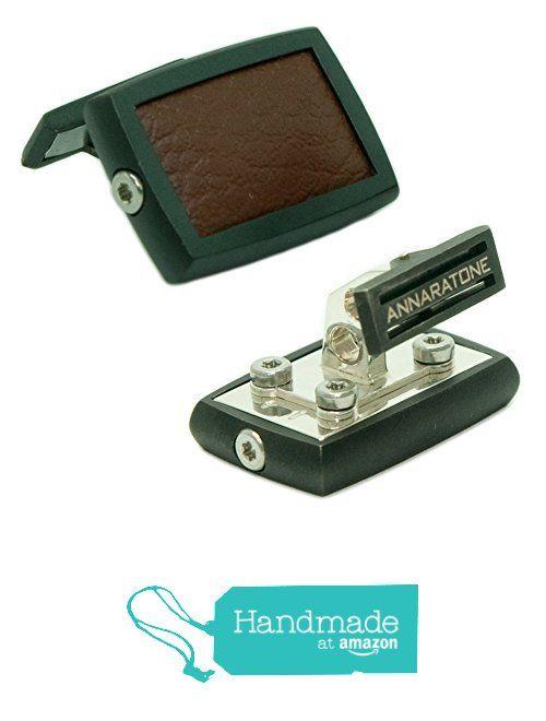 Annaratone Jewelry , Gemelli in Argento 925 , Historic Racing Black Edition Rutenio Marrone Mogano , Opaco da Annaratone Jewelry https://www.amazon.it/dp/B01M1HG099/ref=hnd_sw_r_pi_dp_99q6xbRN59W6M #handmadeatamazon
