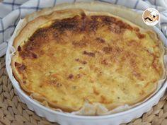 Receta Plato : Quiche lorraine, receta original por Petitchef_oficial