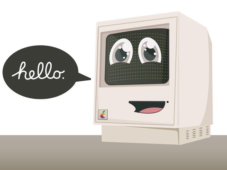 Hello Mac by Jaume Estruch