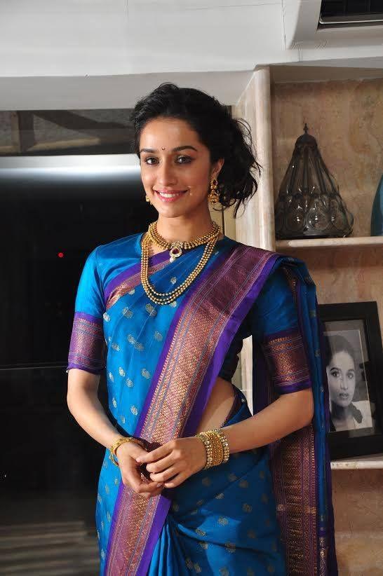 Shraddha Kapoor prepping for Ganesh Chaturthi   Do you like Shraddha's traditional look?