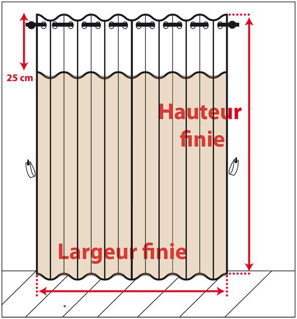 1000 id es sur le th me rideaux panneaux sur pinterest for Prise de cote fenetre