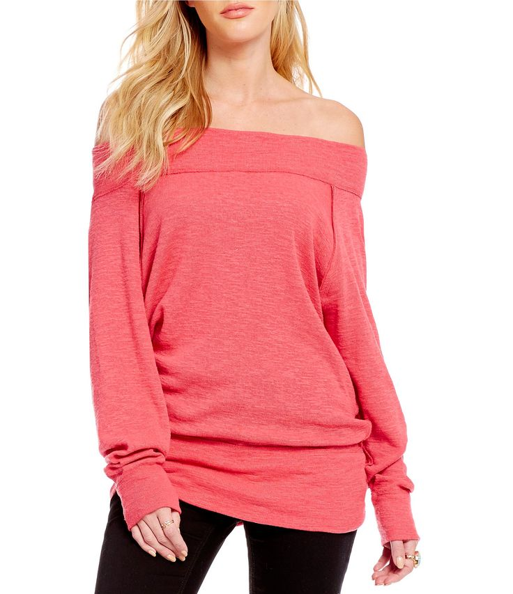 Free People Palisades Thermal OfftheShoulder Top #Dillards