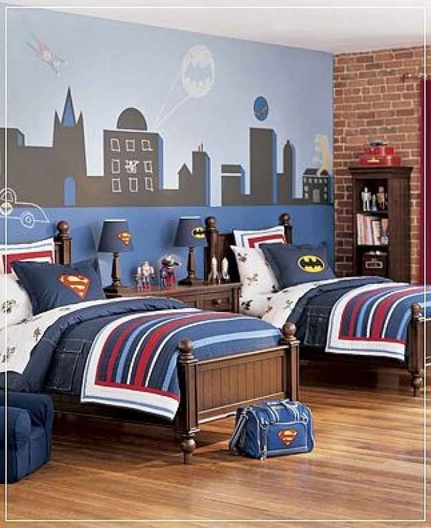 10 Ideas For A Comic Book-Themed Kid's Room