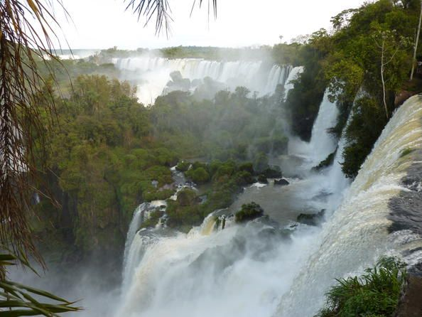 Argentina: Iguazu National Park The semicircular waterfall at the heart of this site is some 80 m high and 2,700 m in diameter and is situated on a bas...