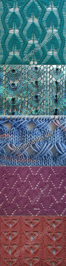 Узоры для вязания спицами. Подборка 60.